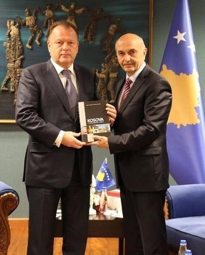 IJF President Vizer honoured as Kosovo celebrates second year of IOC membership