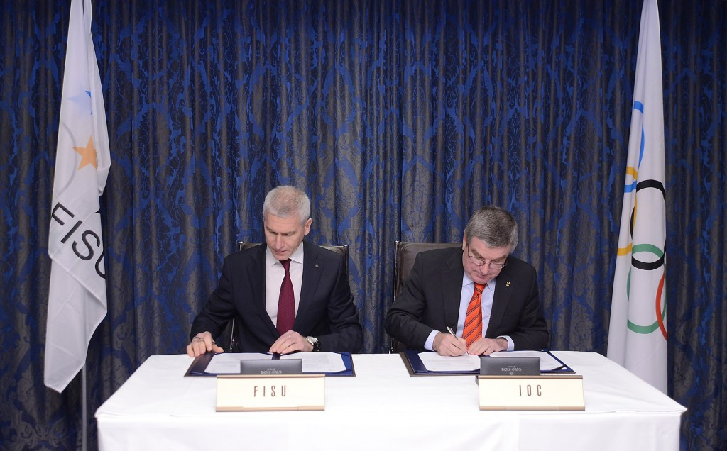 "IOC sign agreement with FISU to formalise ""era of closer collaboration"""