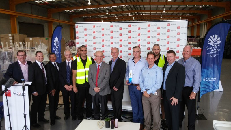 GL events and ExpoNet have come together to produce more than 60,000 temporary seats for use across 13 venues due to be used for the 2018 Commonwealth Games in the Gold Coast ©Gold Coast 2018