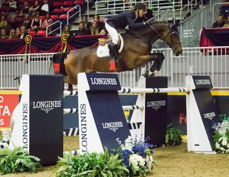 Double Olympic champion Ward seals FEI World Cup Jumping success in Toronto