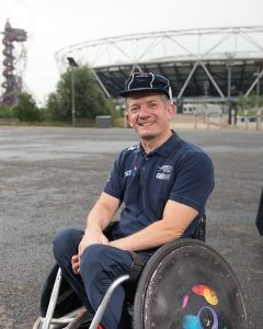 Five-time Paralympian Ash retires from wheelchair rugby