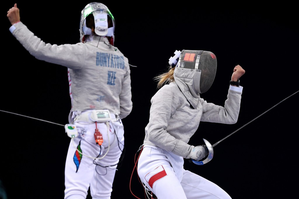 Wator denies hosts Baku 2015 European Games sabre gold on second day of fencing