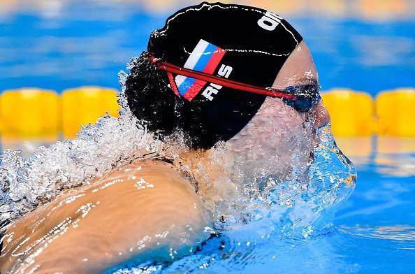 Astashkina breaks world junior record to top European Games swimming bill