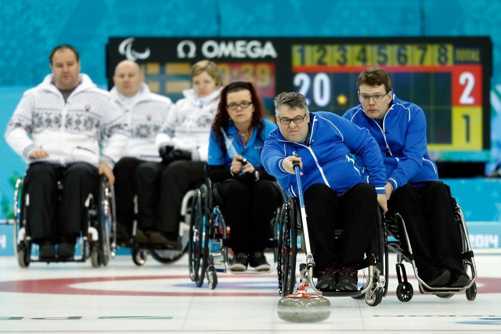 Finland beat Scotland 6-4 in the final of the World Wheelchair-B Curling Championships ©WCF