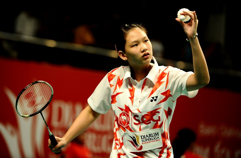 Third seeded Pornpawee Chochuwong of Thailand also remains in contention ©Getty Images