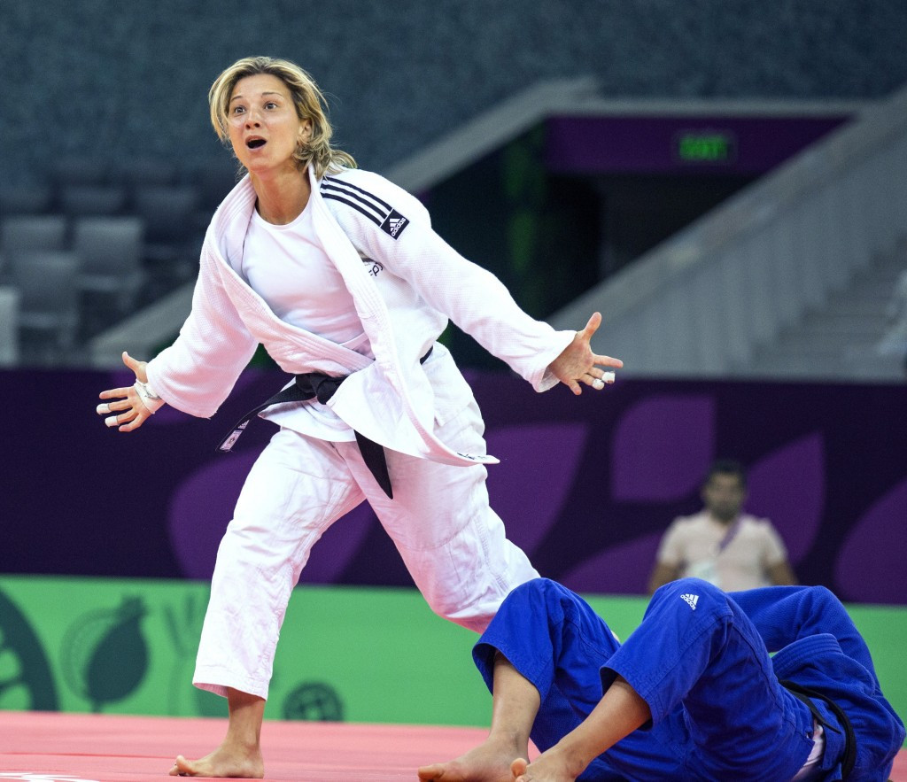 Russia win five medals in European Games judo as Monteiro's fifth gold prompts podium tears