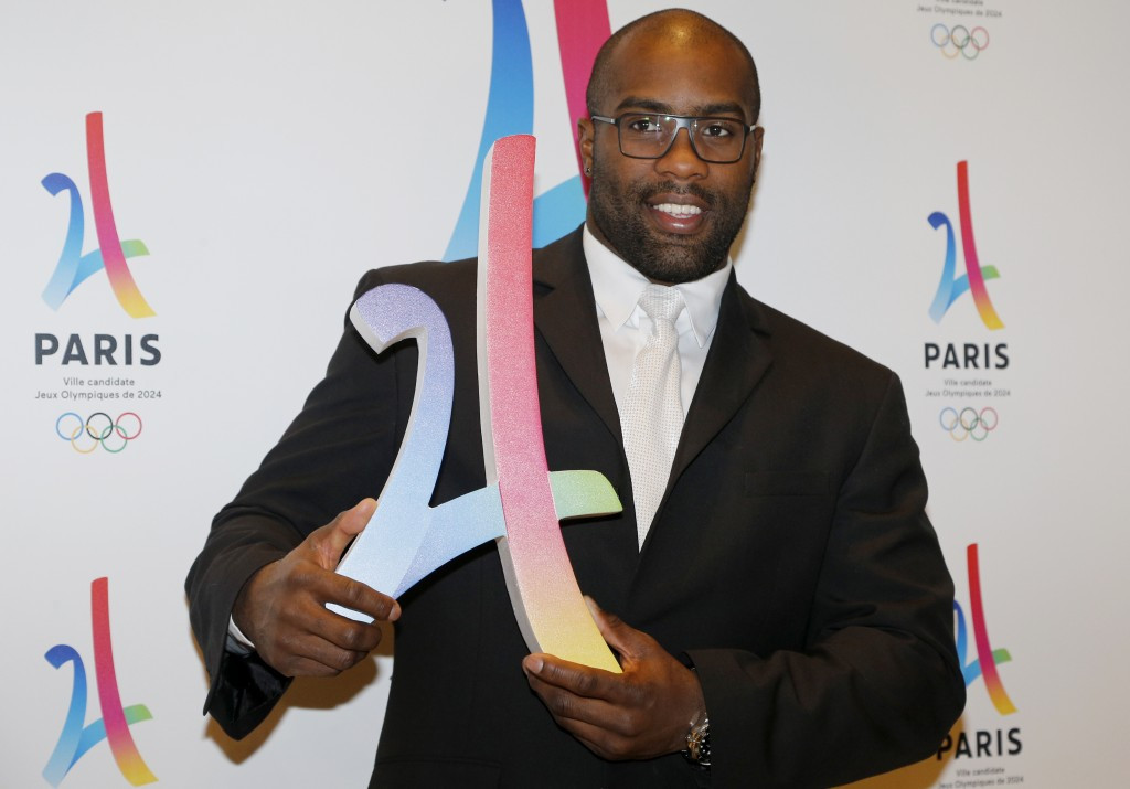 Double Olympic judo gold medallist Teddy Riner has been named in the Paris 2024 delegation ©Getty Images