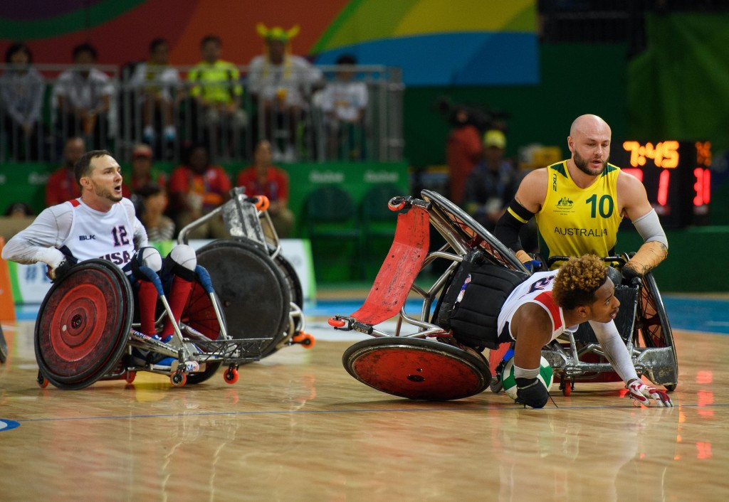 The Rio 2016 Paralympic tournament, won by Australia, will be on the agenda ©Getty Images