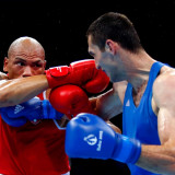 Little and large show marks historic night for boxing at European Games