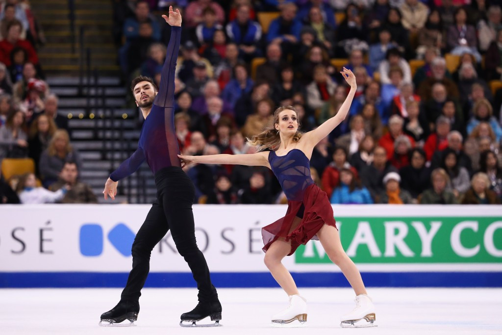 French world champions take ice dance lead at Trophée de France