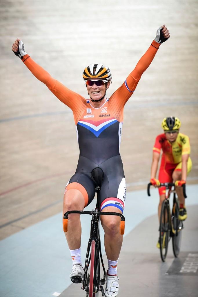 The women's omnium title went to Dutch cyclist Kirsten Wild ©Getty Images