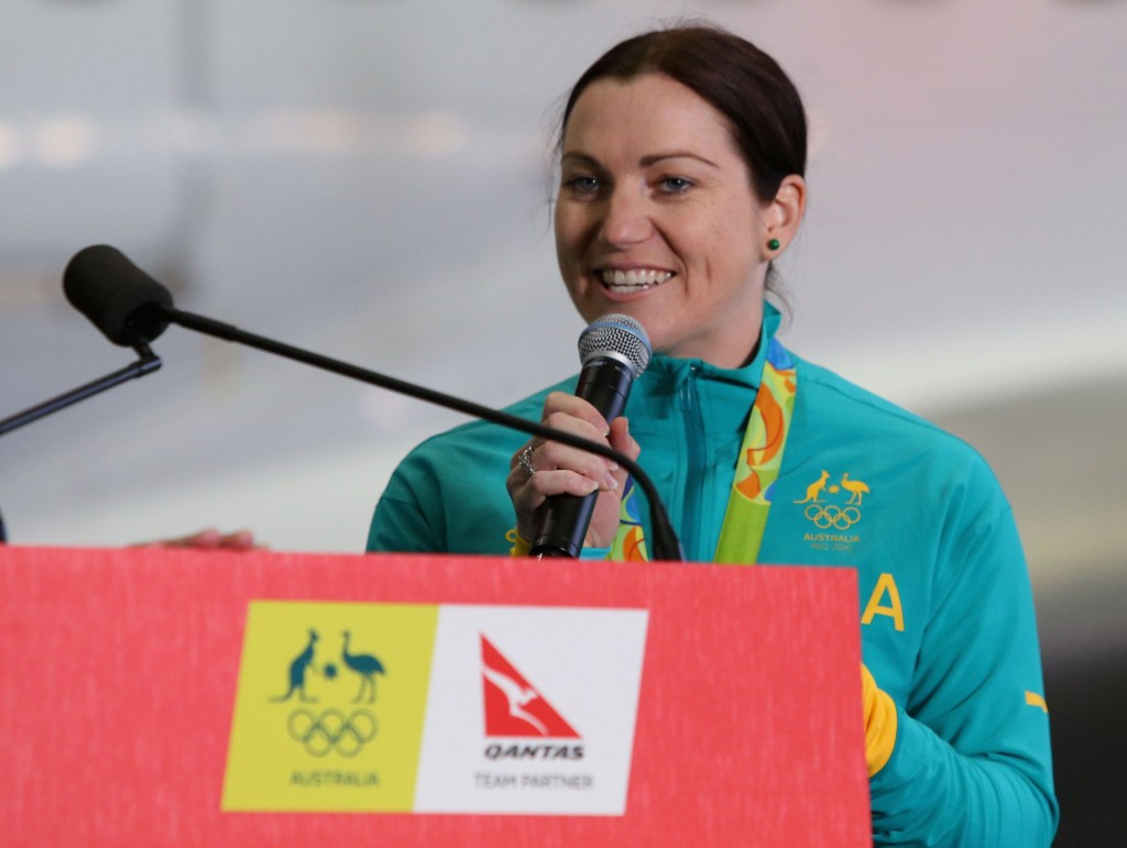 Former Australian cyclist Anna Meares has been announced as the third ambassador for the 2018 Commonwealth Games in Gold Coast ©Getty Images