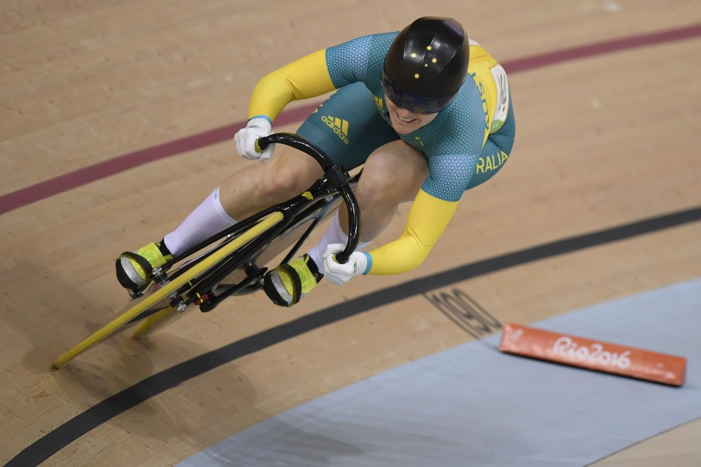 Anna Meares competed at four editions of the Commonwealth Games, winning five gold medals ©Getty Images