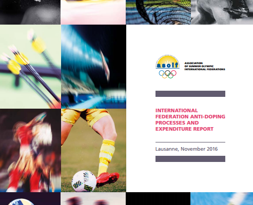 An ASOIF report claims there remains a huge discrepancy between anti-doping funding across different IFs ©ASOIF