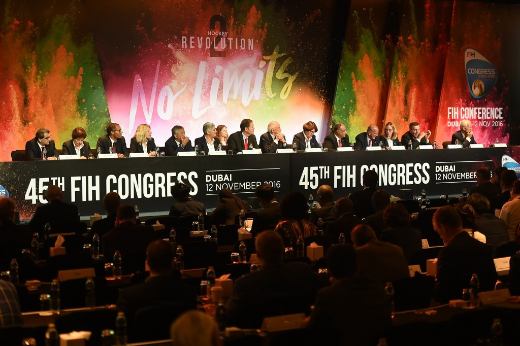 Five additions and one suspension as FIH Congress approves gender equality statute for Executive Board