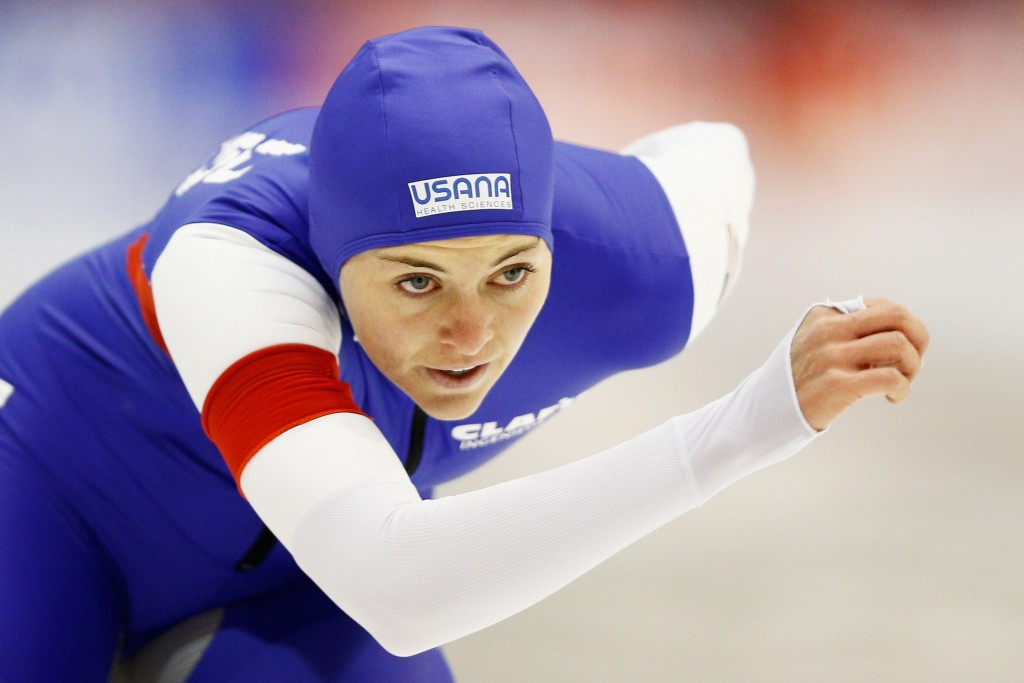 Heather Bergsma won the women's 1000m competition in Harbin ©Getty Images