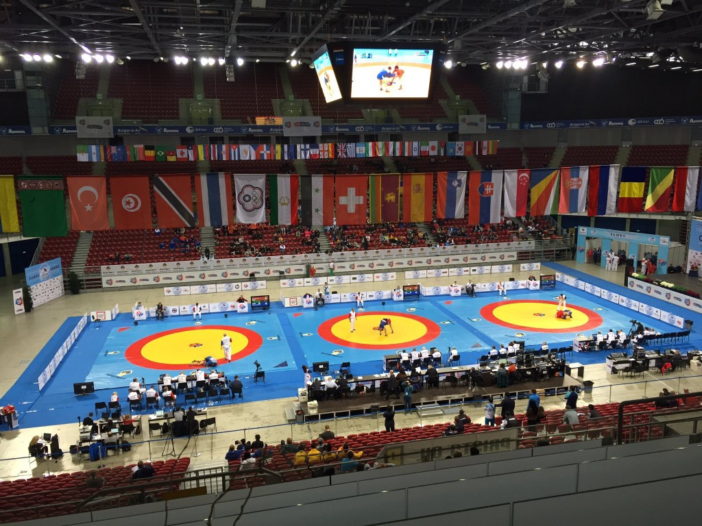 Oryashkova wins hosts Bulgaria's first gold medal of the 2016 World Sambo Championships