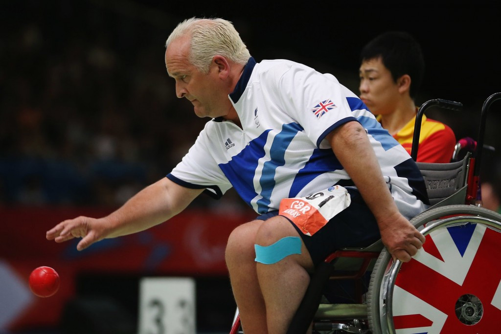 Great Britain's five-time Paralympian Nigel Murray has retired from boccia ©GBBoccia