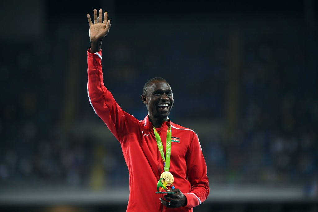 Rudisha appointed President of African Athletics Confederation Athletes' Commission