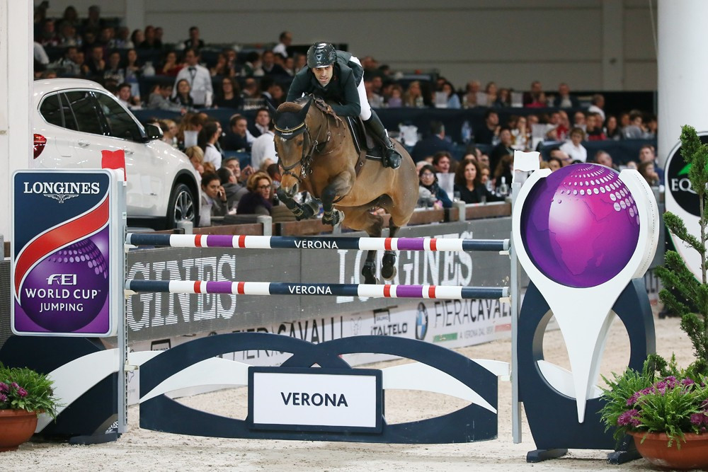 Egyptian wildcard goes double clear en-route to surprise FEI World Cup Jumping victory