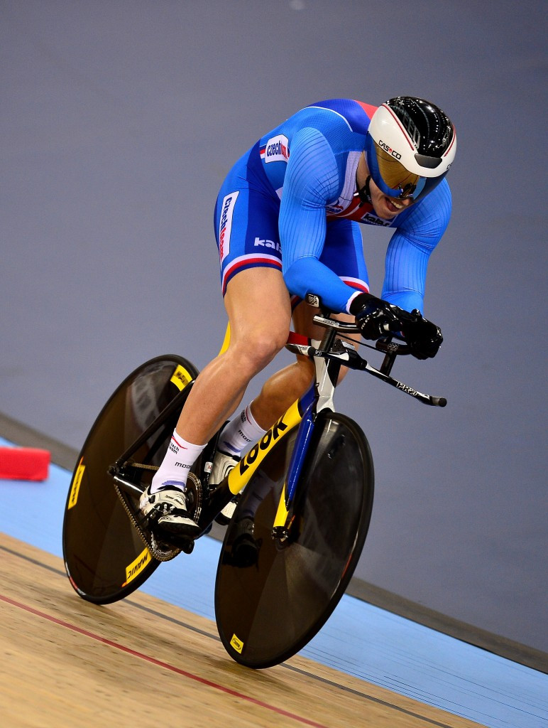 Tomas Babek won the men's omnium event at the UCI Track Cycling World Cup in Apeldoorn today ©Getty Images