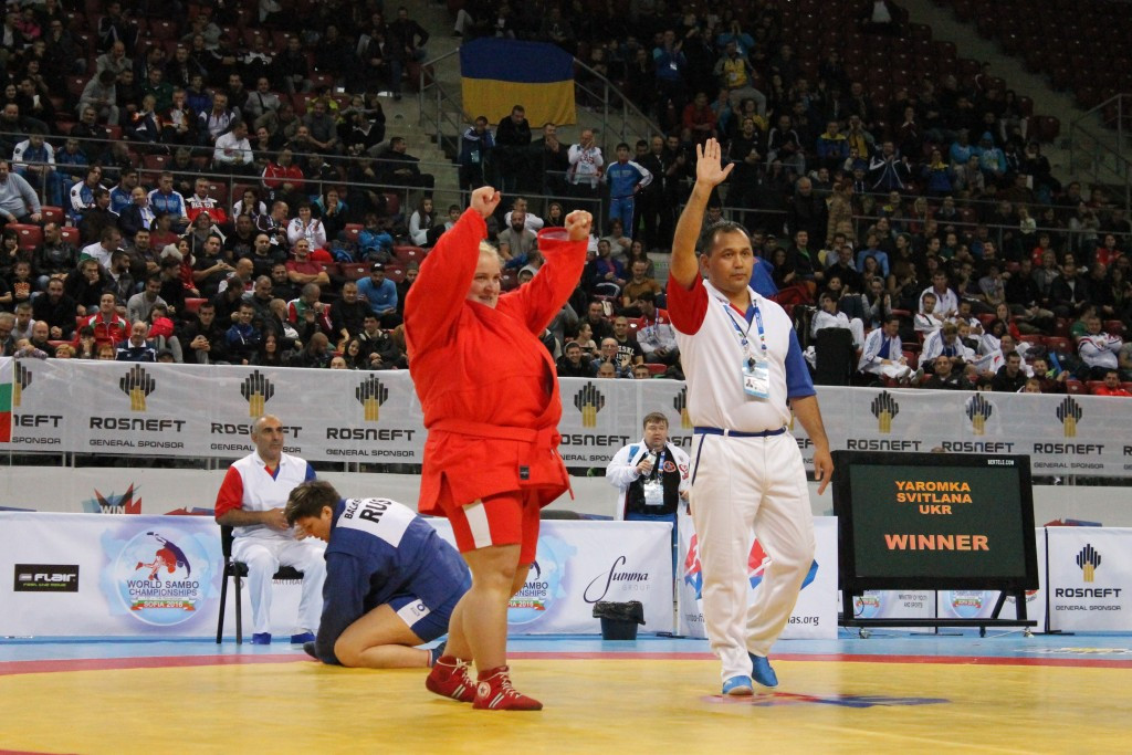 Ukraine's Yaromka wins gold to prevent Russian whitewash on final day of World Sambo Championships