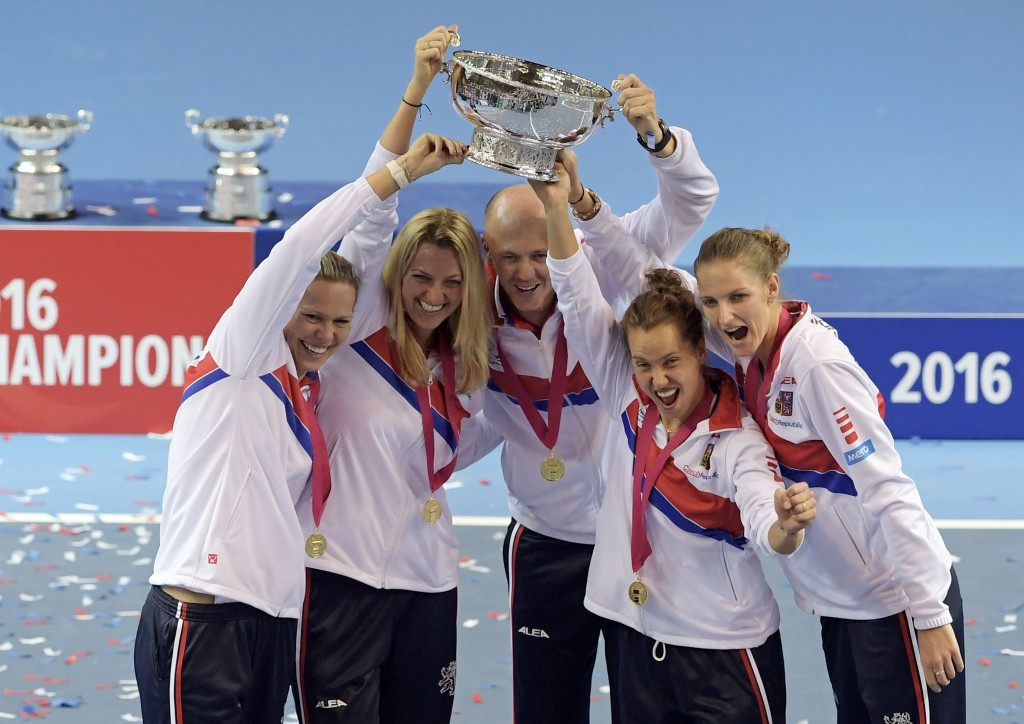 The Czech Republic retained their Fed Cup title after beating France in Strasbourg ©Getty Images
