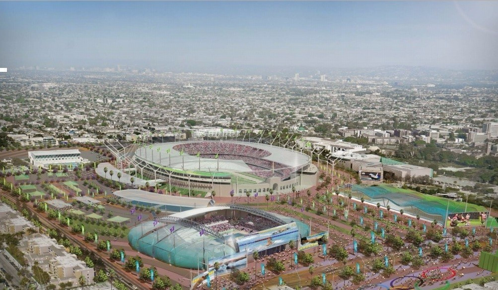 The Los Angeles Memorial Coliseum will be a key part of a third Olympic Games ©SCCOG