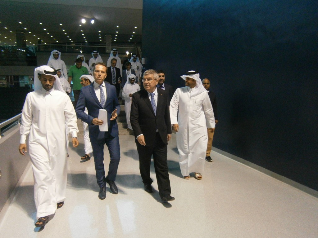 IOC President Thomas Bach claimed he could imagine a Qatar bid for a future Olympic Games ©ITG