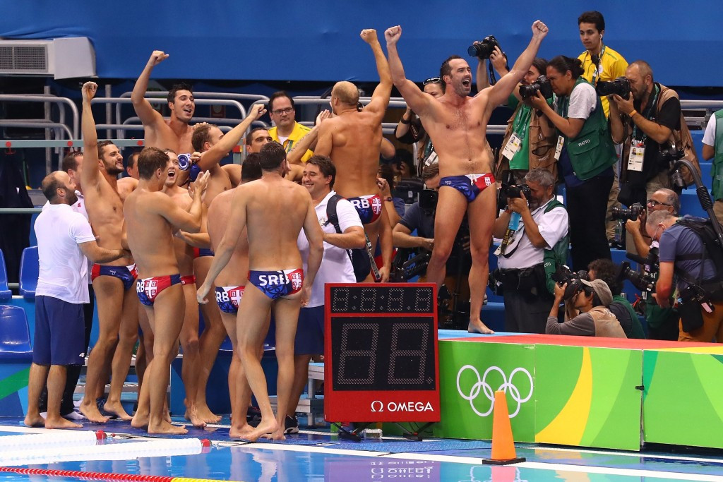 Olympic champions Serbia favourites again at FINA Water Polo World League