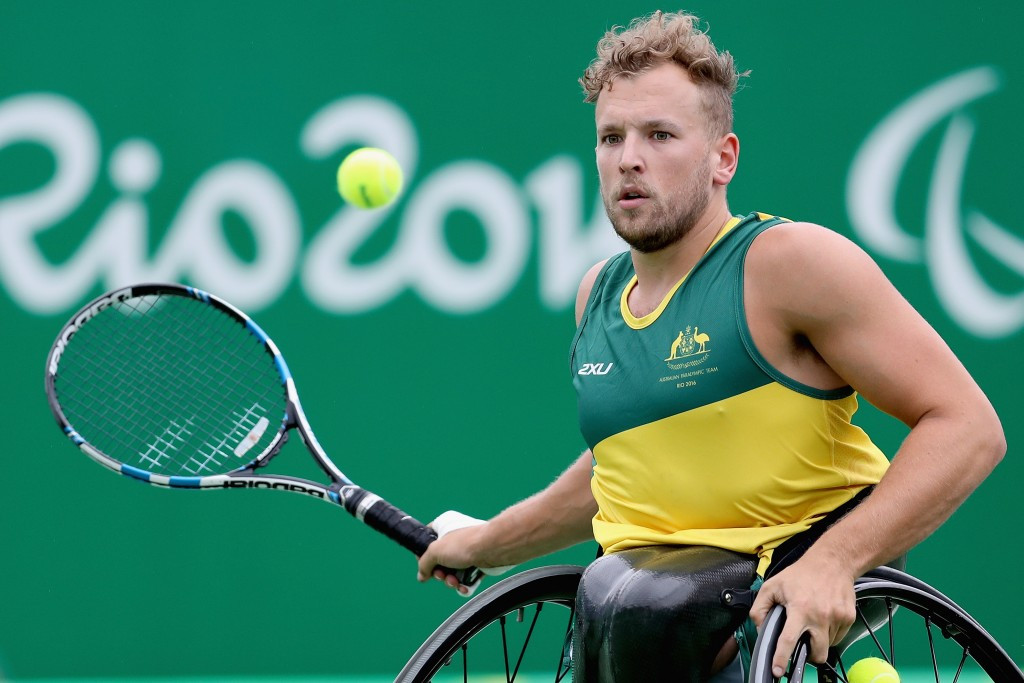 Paralympic champion Alcott withdraws from Wheelchair Tennis Masters