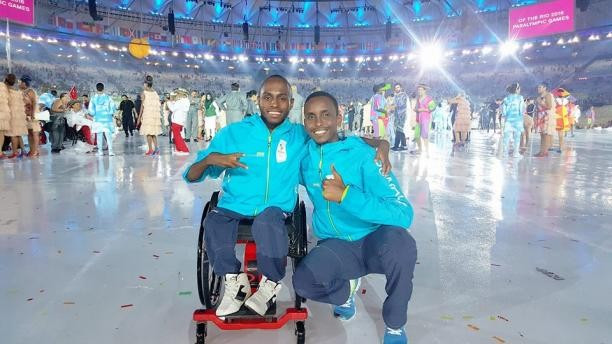 Somalia's first Paralympian Farhan Adawe hopes his Rio 2016 appearance will help to grow disability sport in the African country ©NPC Somalia