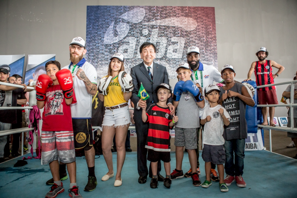 AIBA President C K Wu is a strong supporter of the organisation's HeadsUp! initiative ©AIBA