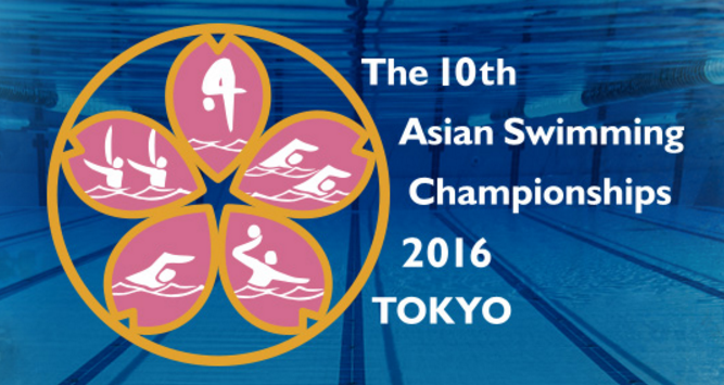 Water polo matches started the 10th Asian Swimming Championships today ©Asian Swimming Championships