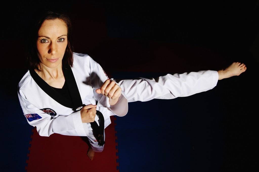 Andrea Kilday was New Zealand's sole taekwondo competitor at Rio 2016 ©TNZ