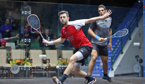 England's Daryl Selby defeated Omar Mosaad for the first time ©PSA