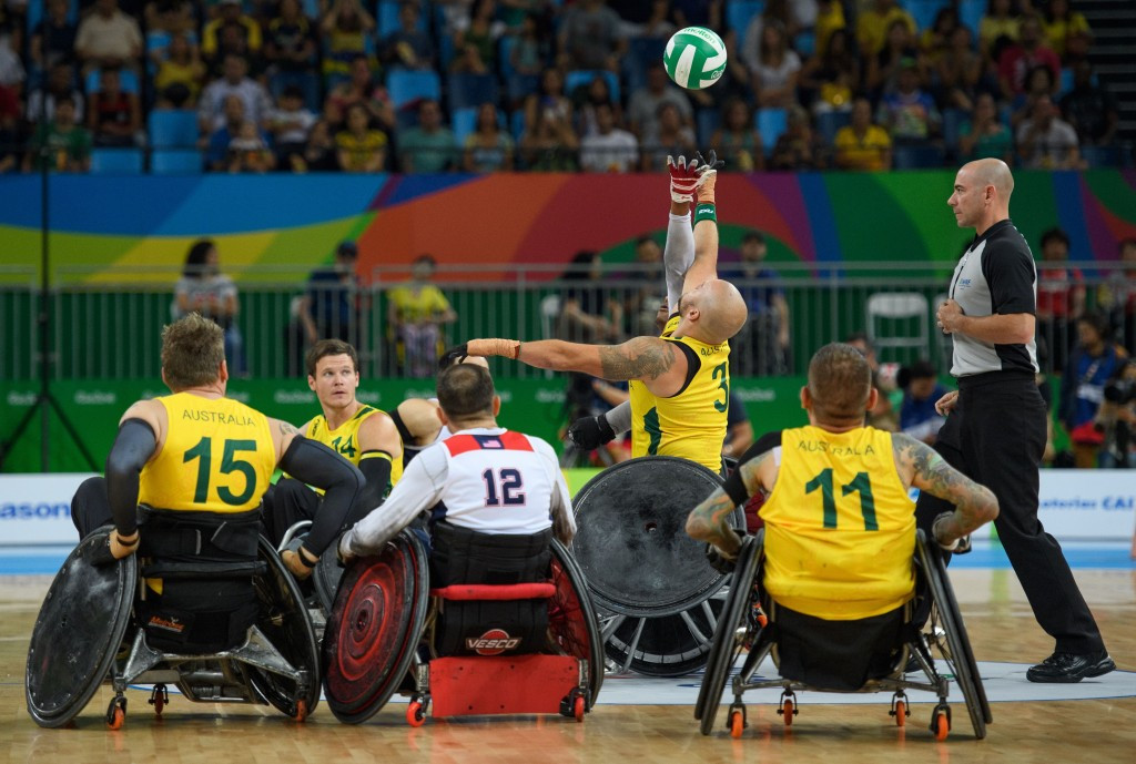 Wheelchair rugby delegates from 22 countries attended in Frankfurt to discuss the sport ©Getty Images