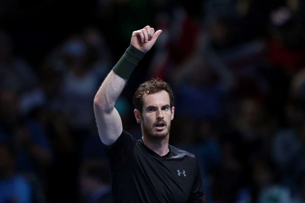 New world number one Murray storms past Cilic at ATP Tour Finals