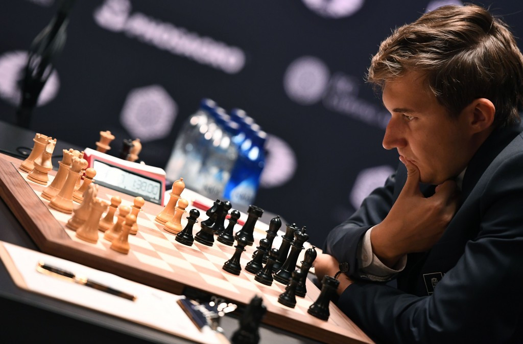 Sergey Karjakin showed staunch defence to hold off the champion ©Getty Images