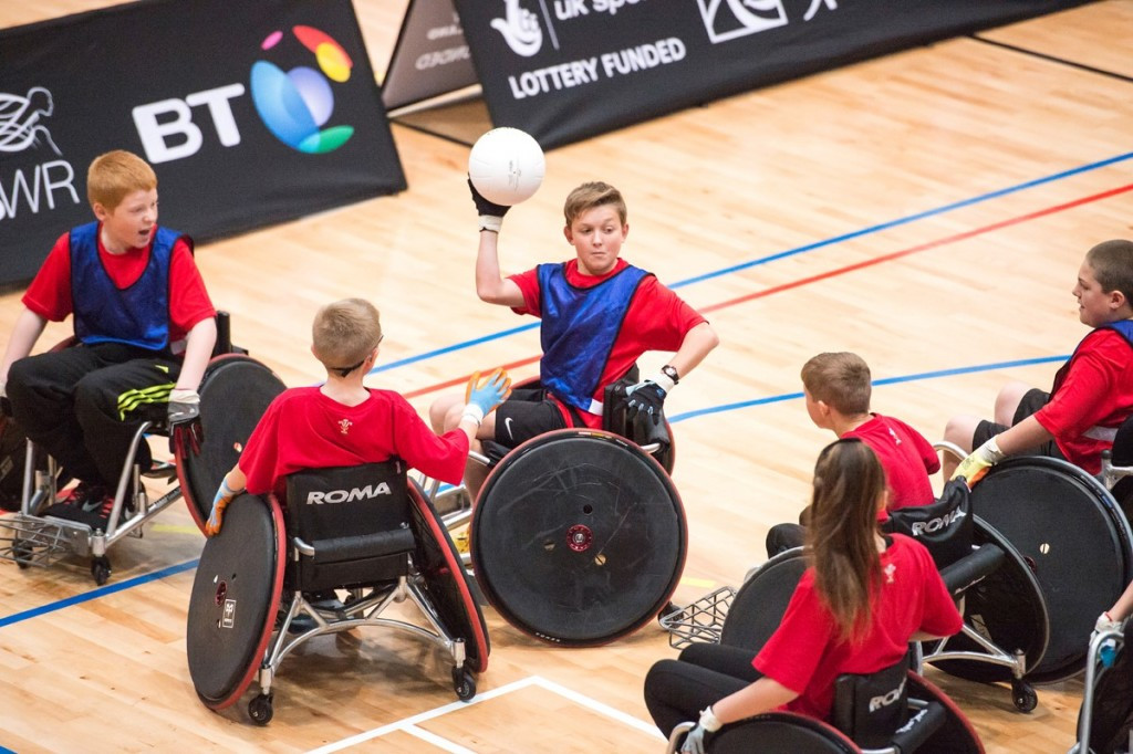 Great Britain Wheelchair Rugby is preparing to host its second Youth Tournament ©GBWR