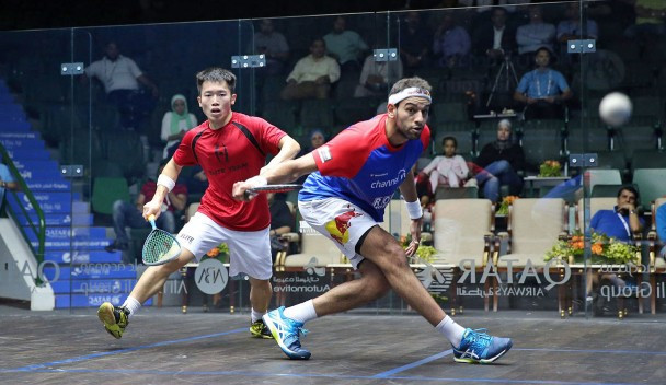 Mohamed Elshorbagy kept his title defence on track ©PSA