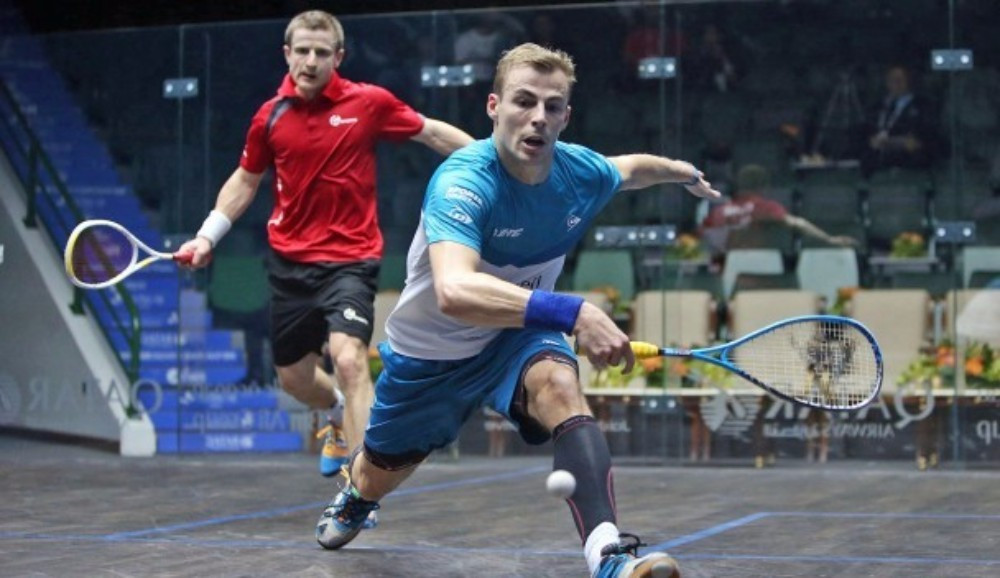 Nick Matthew reached the quarter-finals of the PSA Qatar Classic ©PSA