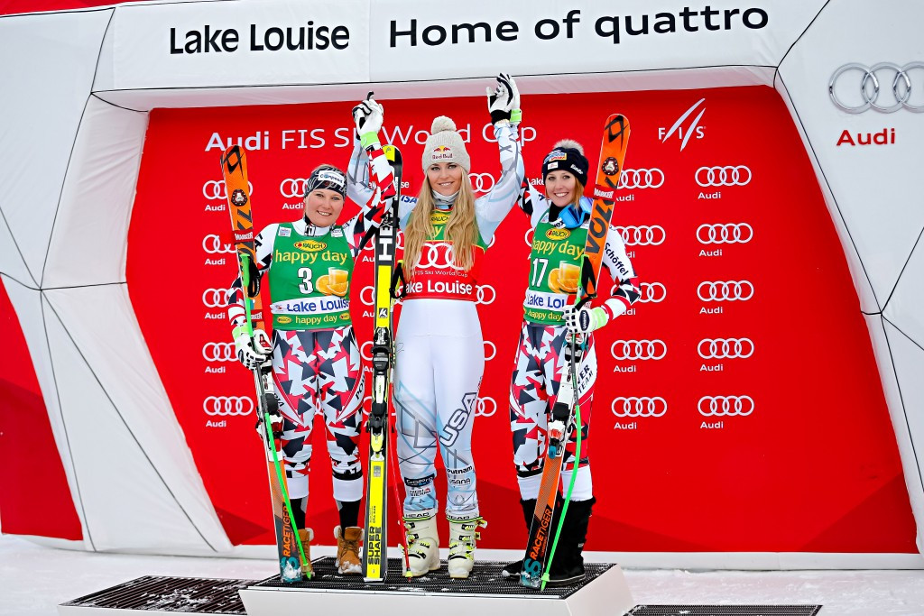 Officials in Canada still hope women's races in the FIS Alpine Skiing World Cup at Lake Louise will go ahead as planned in December ©Getty Images