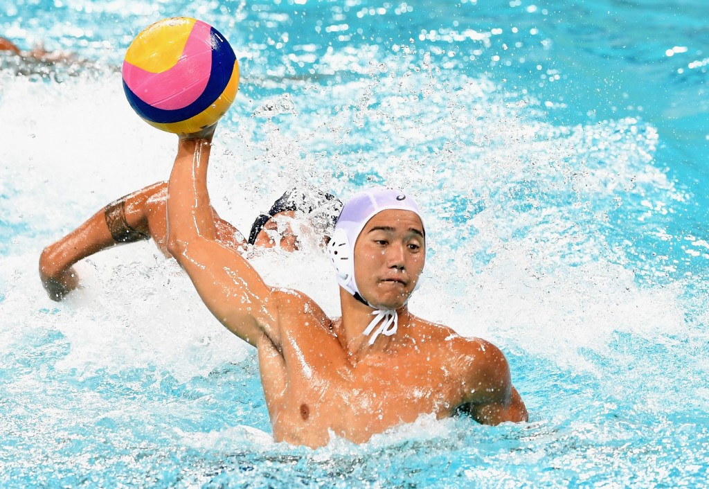 Japan's men reached the quarter-finals of the water polo event with three victories ©Getty Images