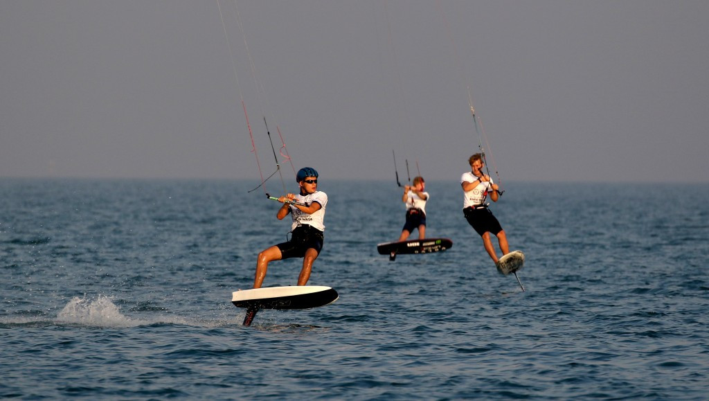 Nocher earns opening win of IKA KiteFoil GoldCup