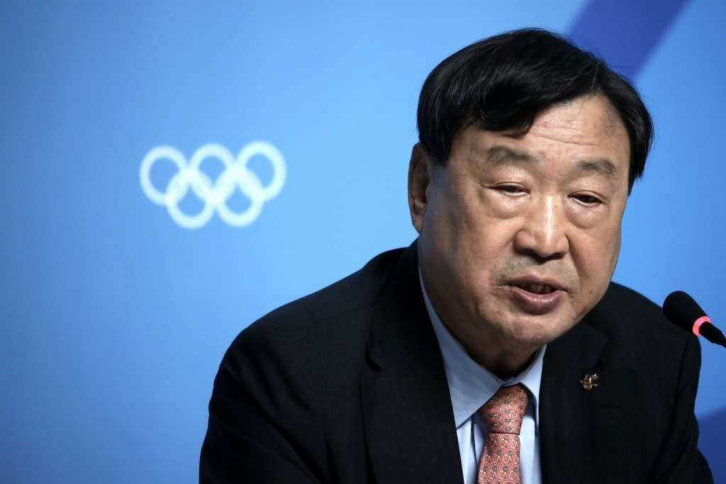 Pyeongchang 2018 President Hee-beom has stated North Korea have a right to compete at the Games ©Getty Images