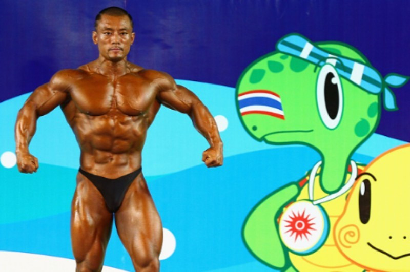 Bodybuilding appeared at this year's Asian Beach Games and has now been added to the programme for the 2019 Pan American Games in Lima ©Danang 2016