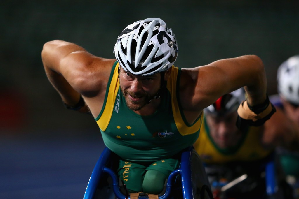 Kurt Fearnley has been revealed as the fourth official ambassador for the Gold Coast 2018 Commonwealth Games ©Getty Images