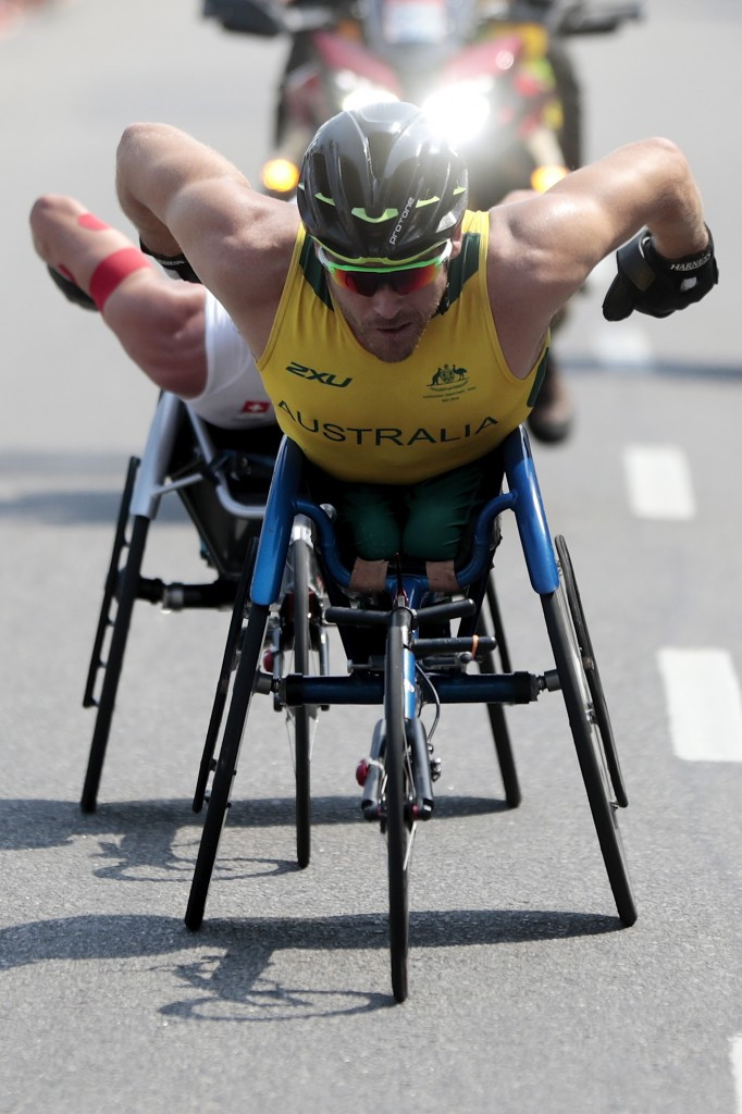Kurt Fearnley won gold at the New Delhi 2010 Commonwealth Games ©Getty Images