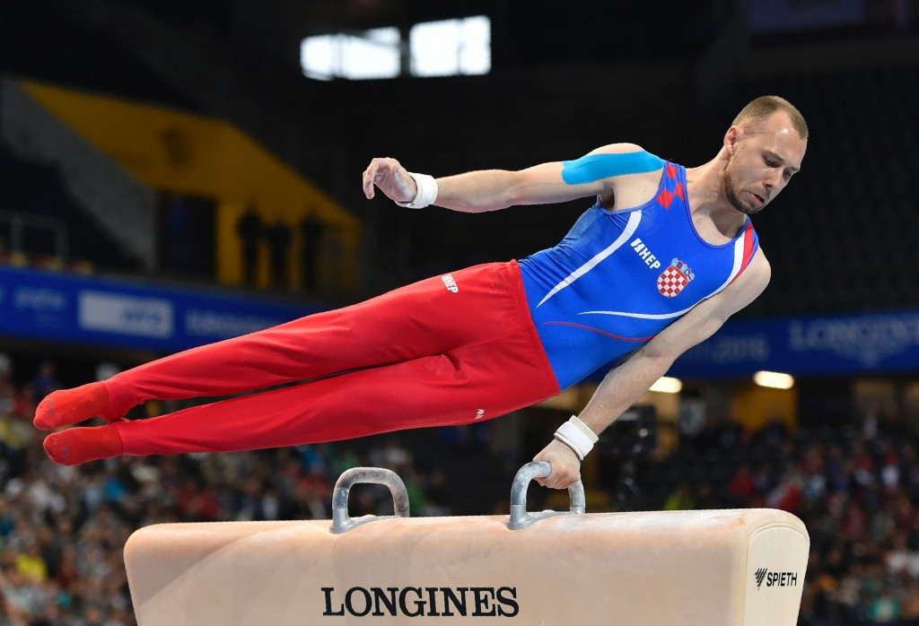 Seligman pips Olympic pommel horse gold medallist to top spot as qualification begins at FIG Individual Apparatus World Cup